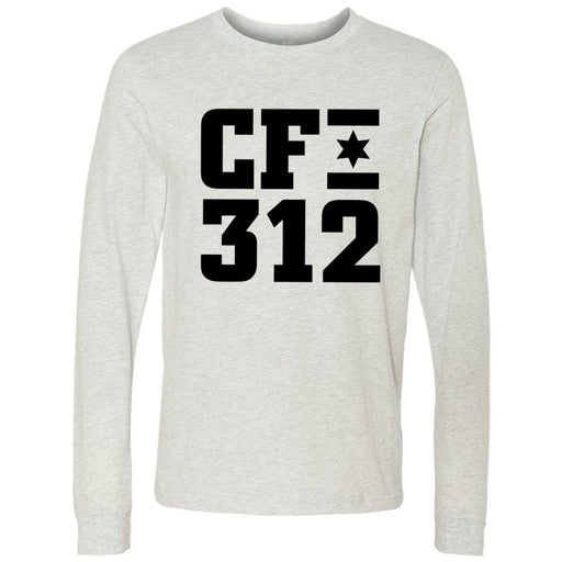 CrossFit 312 - 202 - One Color - Bella + Canvas 3501 - Men's Long Sleeve Jersey Tee