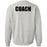 CF New Hampshire - 201 - Pocket Coach One Color - Gildan - Heavy Blend Crewneck Sweatshirt