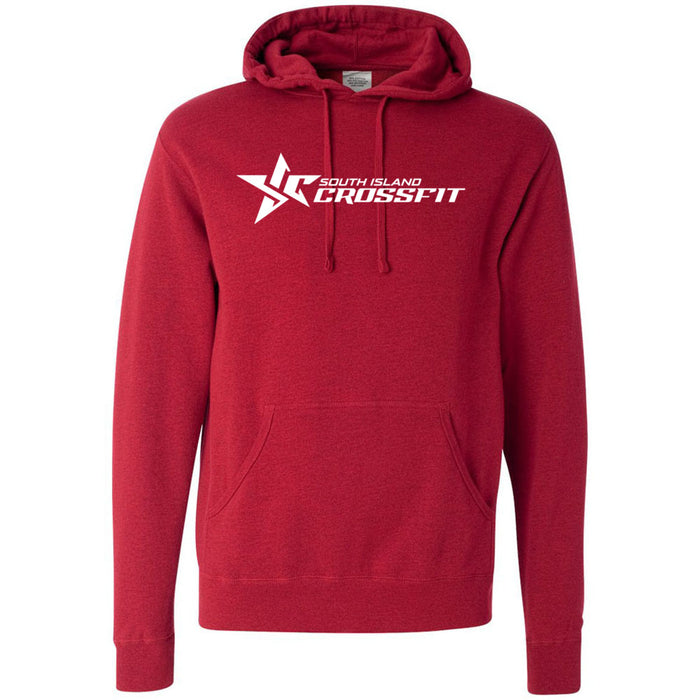South Island CrossFit - 100 - Stacked - Independent - Hooded Pullover Sweatshirt