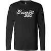 CrossFit 350 - 100 - Script - Bella + Canvas 3501 - Men's Long Sleeve Jersey Tee