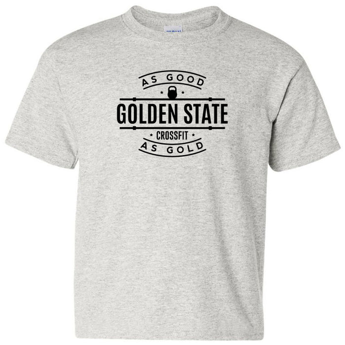 Golden State CrossFit - 100 - As Good As Gold - Gildan - Heavy Cotton Youth T-Shirt