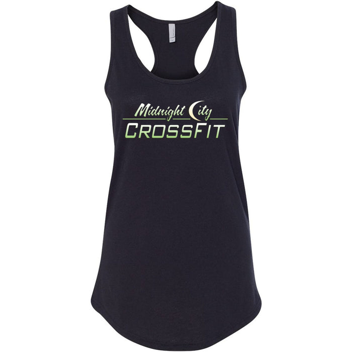 Midnight City CrossFit - 100 - Gradient - Next Level - Women's Ideal Racerback Tank