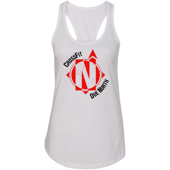 CrossFit Due North - 100 - Standard - Next Level - Women's Ideal Racerback Tank