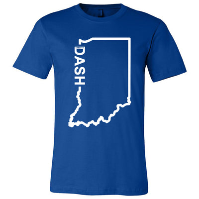 CrossFit Dash - 100 - Indiana Dash - Bella + Canvas - Men's Short Sleeve Jersey Tee