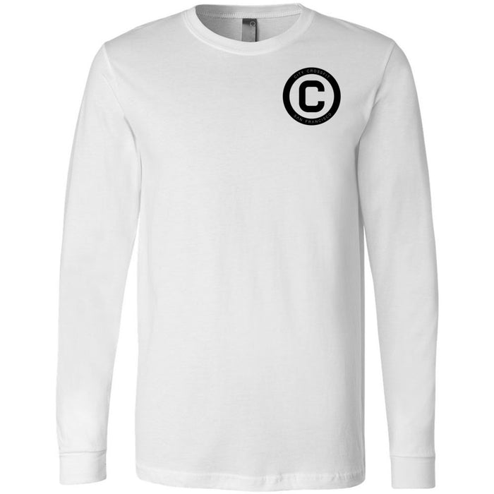 The City CrossFit - 202 - The Yard - Bella + Canvas 3501 - Men's Long Sleeve Jersey Tee