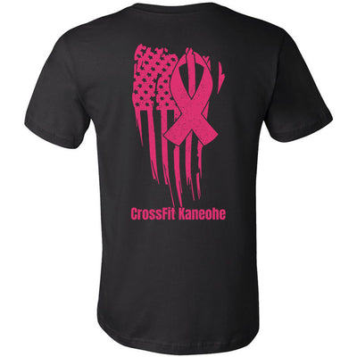 CrossFit Kaneohe - 200 - Breast Cancer Awareness - Bella + Canvas - Men's Short Sleeve Jersey Tee
