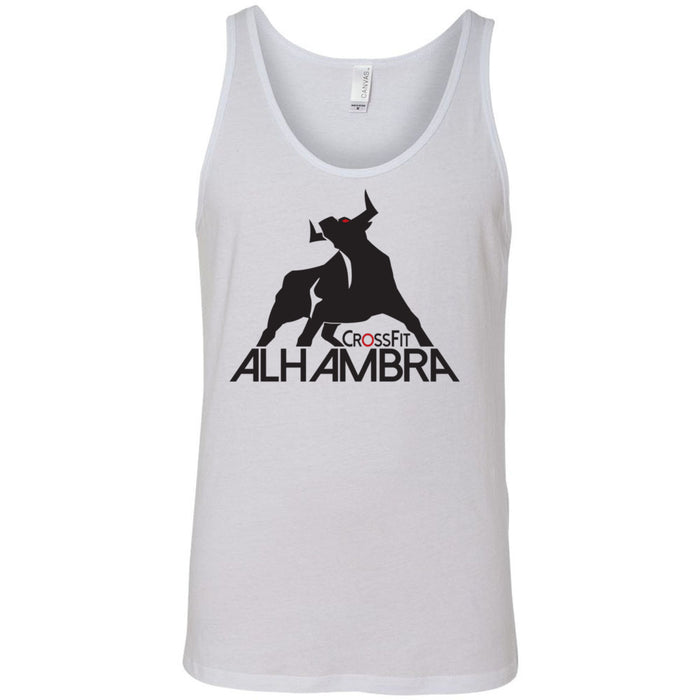 CrossFit Alhambra - 100 - Standard - Bella + Canvas - Men's Jersey Tank