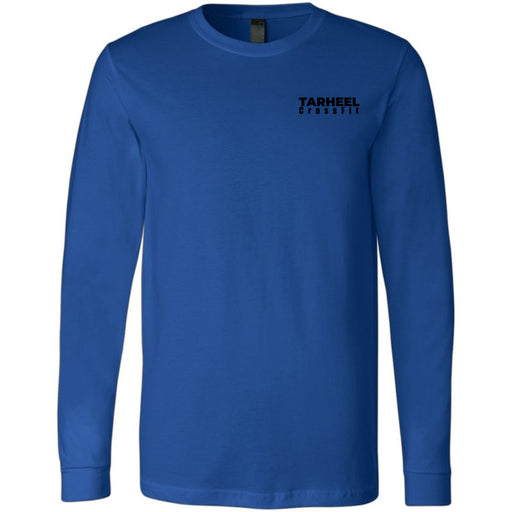 Tarheel CrossFit - 100 - Pocket - Bella + Canvas 3501 - Men's Long Sleeve Jersey Tee