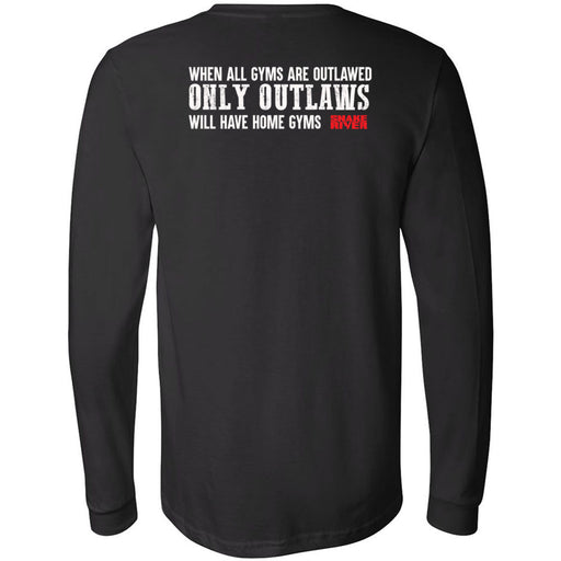 Snake River CrossFit - 202 - Outlaw 2 - Bella + Canvas 3501 - Men's Long Sleeve Jersey Tee