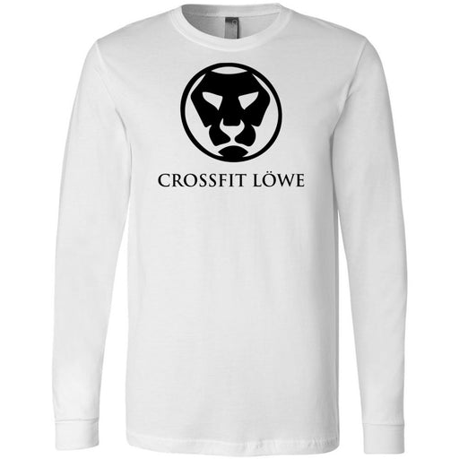 CrossFit Lowe - 100 - Standard - Bella + Canvas 3501 - Men's Long Sleeve Jersey Tee
