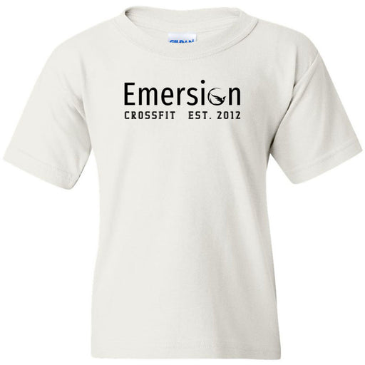 Emersion CrossFit - 100 - Black - Gildan - Heavy Cotton Youth T-Shirt