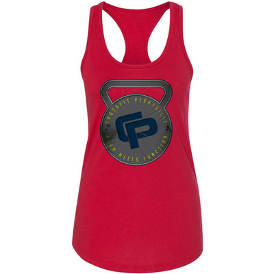 CrossFit Perryville - 100 - Kettlebell - Next Level - Women's Ideal Racerback Tank