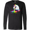 Crossfit 1926 - 202 - Unicorn - Bella + Canvas 3501 - Men's Long Sleeve Jersey Tee