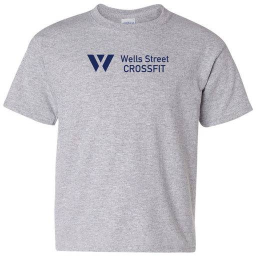 Wells Street CrossFit - 100 - Standard - Gildan - Heavy Cotton Youth T-Shirt