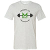 CrossFit 235 - 100 - Barbell - Bella + Canvas - Men's Short Sleeve Jersey Tee