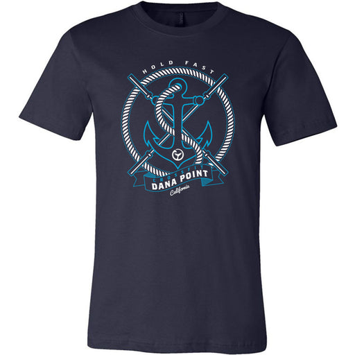 CrossFit Dana Point - 100 - Anchor - Bella + Canvas - Men's Short Sleeve Jersey Tee