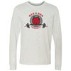 Red Dog CrossFit - 100 - Standard - Bella + Canvas 3501 - Men's Long Sleeve Jersey Tee