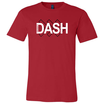 CrossFit Dash - 100 - Right Arrow - Bella + Canvas - Men's Short Sleeve Jersey Tee
