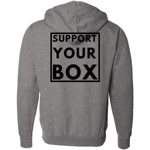 Hub City CrossFit - 201 - Support Your Box - Independent - Hooded Pullover Sweatshirt