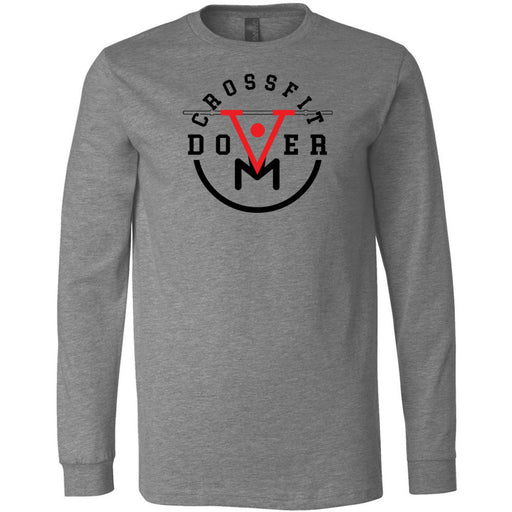 CrossFit Dover - 100 - Barbell - Bella + Canvas 3501 - Men's Long Sleeve Jersey Tee