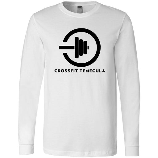 CrossFit Temecula - 100 - One Color - Bella + Canvas 3501 - Men's Long Sleeve Jersey Tee