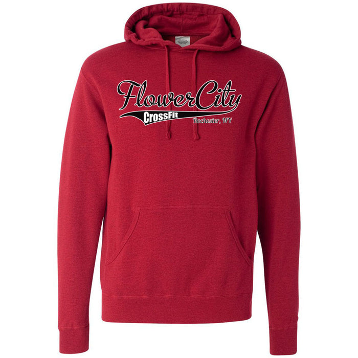 Flower City CrossFit - 100 - Tails - Independent - Hooded Pullover Sweatshirt