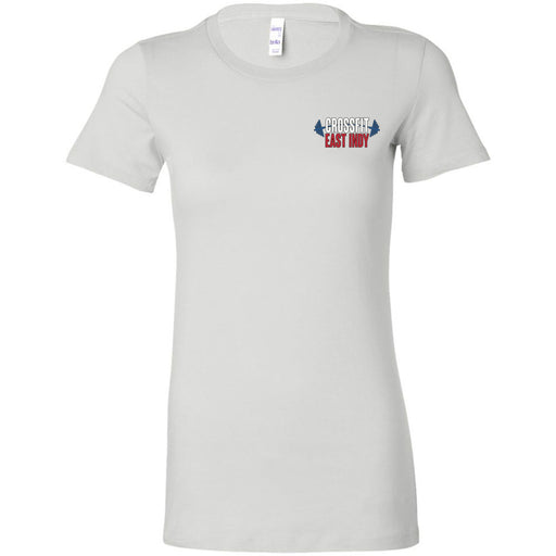 CrossFit East Indy - 100 - Pocket - Bella + Canvas - Women's The Favorite Tee