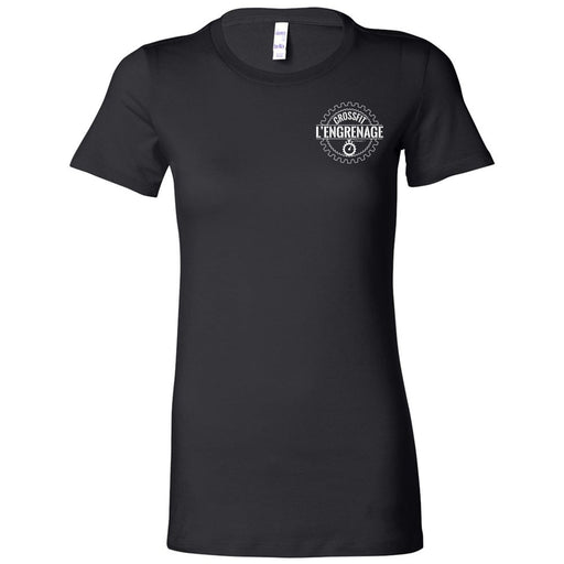 CrossFit L'Engrenage - 100 - Pocket - Bella + Canvas - Women's The Favorite Tee