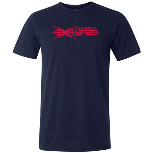 CrossFit Exalted - 100 - Red - Bella + Canvas - Men's Triblend Short Sleeve Tee