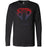 CrossFit Bound - 100 - Cobra Gradient - Bella + Canvas 3501 - Men's Long Sleeve Jersey Tee