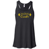 Lander University CrossFit - 100 - Barbell - Bella + Canvas - Women's Flowy Racerback Tank