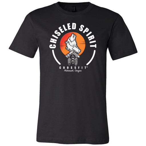 Chiseled Spirit CrossFit - 100 - Stacked - Bella + Canvas - Men's Short Sleeve Jersey Tee