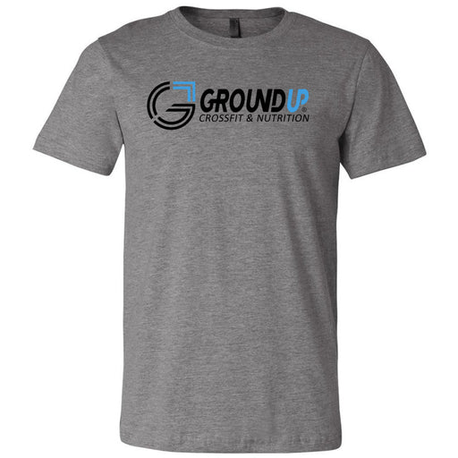 CrossFit Ground Up - 100 - Standard - Bella + Canvas - Men's Short Sleeve Jersey Tee