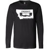 CrossFit Livingston - 100 - One Color - Bella + Canvas 3501 - Men's Long Sleeve Jersey Tee