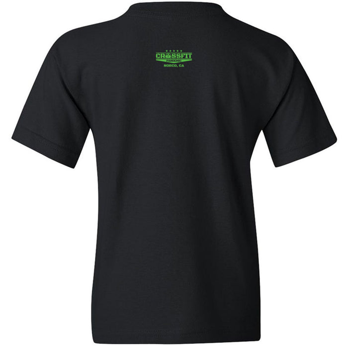 CrossFit Pandemic - 200 - Green - Gildan - Heavy Cotton Youth T-Shirt