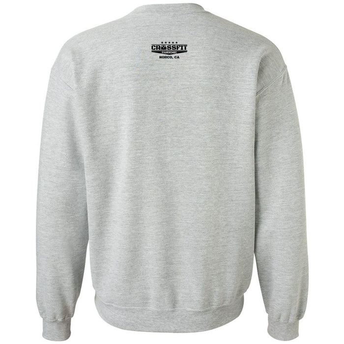 CrossFit Pandemic - 201 - Black & White - Gildan - Heavy Blend Crewneck Sweatshirt