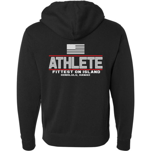 CrossFit Oahu - 201 - Fittest - Independent - Hooded Pullover Sweatshirt