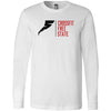 CrossFit Free State - 100 - Standard - Bella + Canvas 3501 - Men's Long Sleeve Jersey Tee