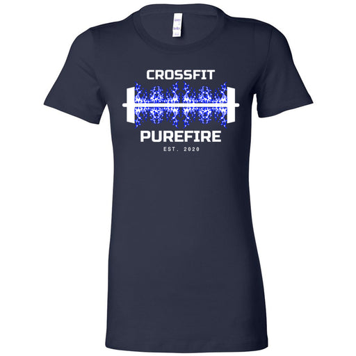 CrossFit Purefire - 100 - Barbell - Bella + Canvas - Women's The Favorite Tee