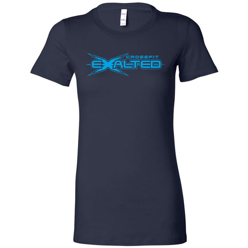 CrossFit Exalted - 100 - Blue - Bella + Canvas - Women's The Favorite Tee