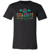CrossFit Inconceivable - 100 - Tropical - Bella + Canvas - Men's Short Sleeve Jersey Tee