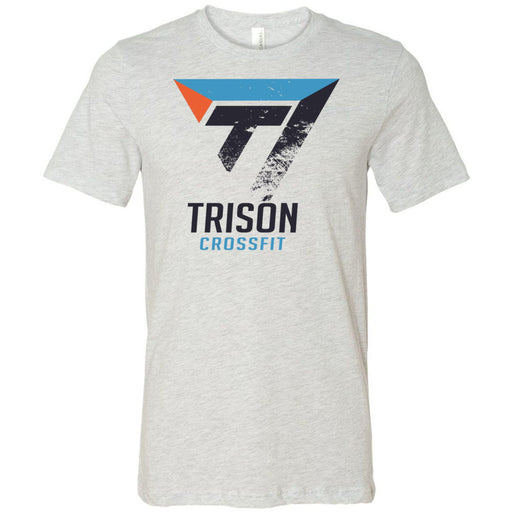 Trison CrossFit - 100 - Distressed - Bella + Canvas - Men's Short Sleeve Jersey Tee