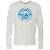 Natural Strength CrossFit - 100 - Mountain - Bella + Canvas 3501 - Men's Long Sleeve Jersey Tee