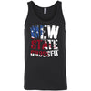 New State CrossFit - 100 - Flag - Bella + Canvas - Men's Jersey Tank