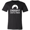 CrossFit Castle Rock - 100 - Standard - Bella + Canvas - Men's Short Sleeve Jersey Tee