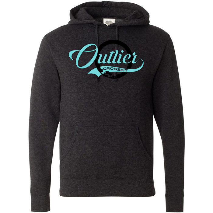 Outlier CrossFit - 100 - Script - Independent - Hooded Pullover Sweatshirt