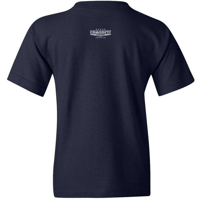 CrossFit Pandemic - 200 - Gray - Gildan - Heavy Cotton Youth T-Shirt
