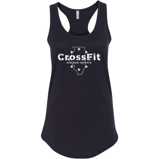 CrossFit Chicago Heights - 100 - Illinois - Next Level - Women's Ideal Racerback Tank