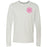 CrossFit Ruston - 202 - Work Hard Pink - Bella + Canvas 3501 - Men's Long Sleeve Jersey Tee