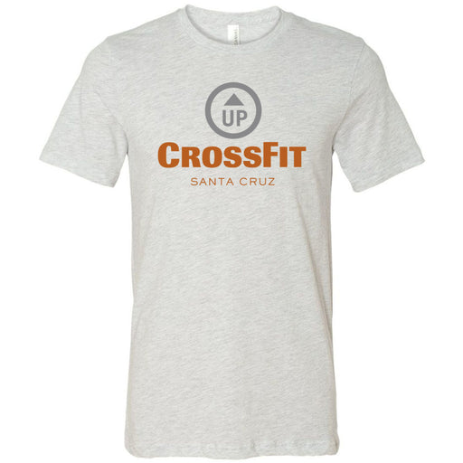 CrossFit Up - 100 - Stacked Santa Cruz - Bella + Canvas - Men's Short Sleeve Jersey Tee